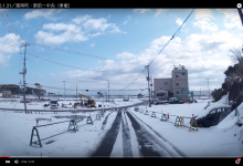 2016.1.31/富岡町・駅前ー中央(車載)