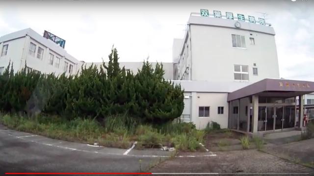 2018 08 27 双葉町中野ー厚生病院ー役場