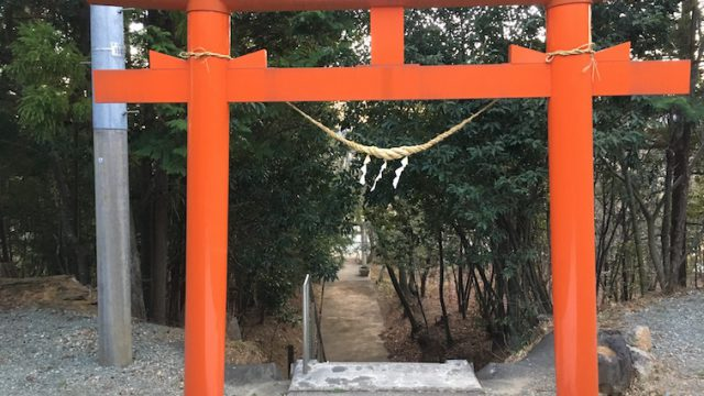 八幡神社(上繁岡)2018