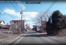 20180312 大熊町役場ー三角屋ー熊町小(車載2倍速)