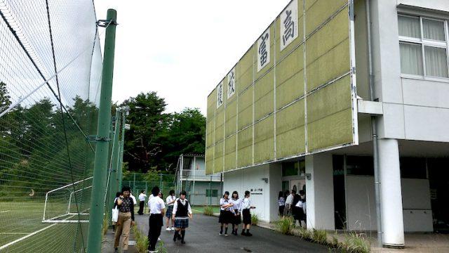 「福島県高校文化連盟活動優秀校公演」生徒実行委員会視察