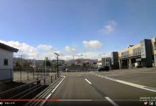 20200305/大熊町中央台ー大野駅東口ー西口(車載2倍速)