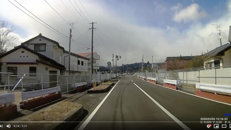 20200305大熊町/下野上(車載二倍速)