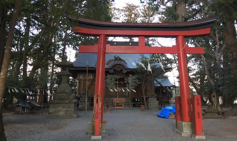 初発神社(北幾世橋)
